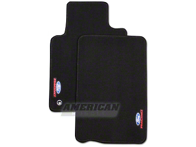 Ford Racing Black Floor Mats (05-09 All)