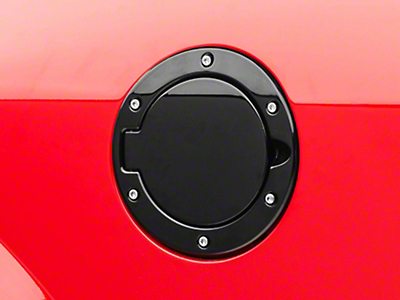 Bullitt Style Black Fuel Door (05-09 All)