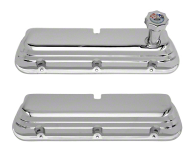 Ford Racing Chrome Valve Covers (86-93 5.0L)