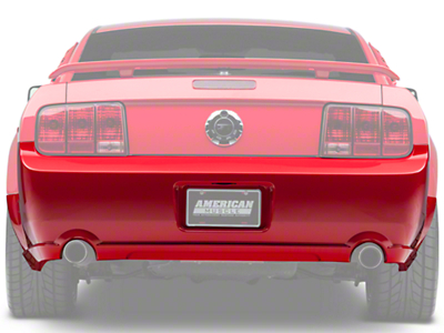 Rear Bumper Cover - Unpainted (05-09 GT)