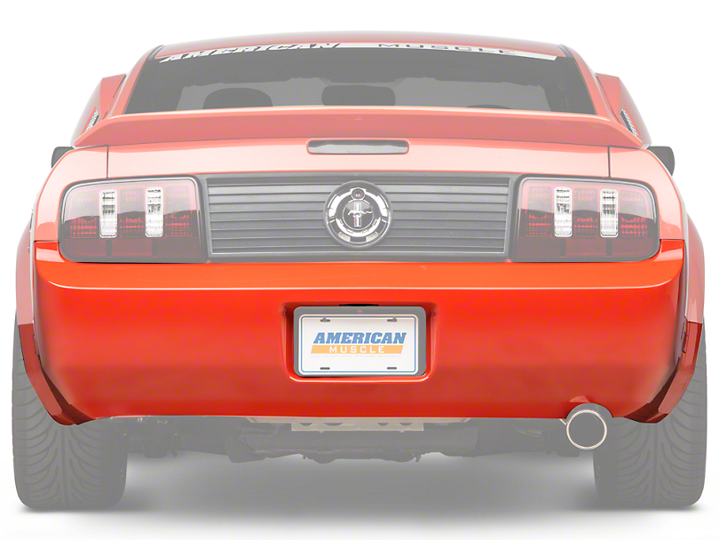 Rear Bumper Cover - Unpainted (05-09 V6)