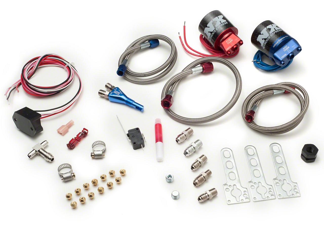 Nitrous Express Coyote Nitrous Kit - Nozzle System (11-14 GT)