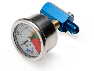 NX Bottle Pressure Gauge - D-4 (79-12 All)