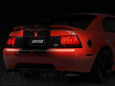 Mustang 3rd Brake Light Decal (99-04 All; Excludes 03-04 Cobra)