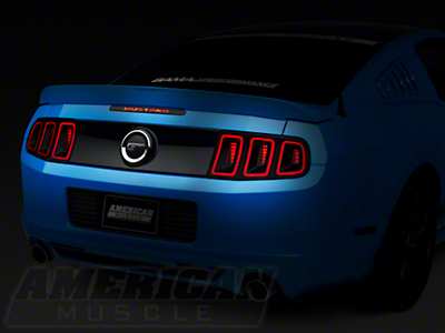 Mustang Third Brake Light Decal (10-14)