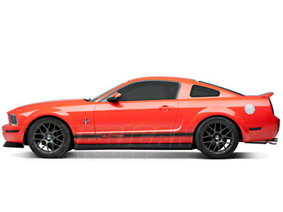 Custom Cut Window Tint - Coupe - 5% (05-09 All)