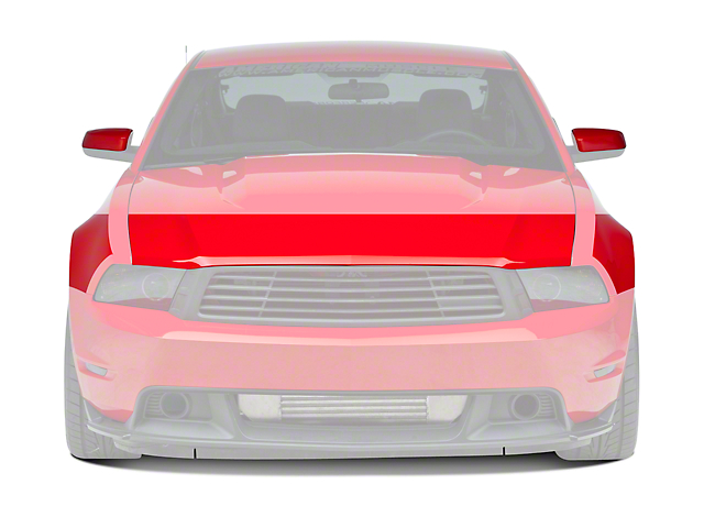 3M Paint Protection Film - Hood & Mirrors (10-12 GT, V6)