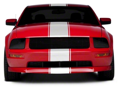 White Super Snake Style Stripe Kit (05-14 All)