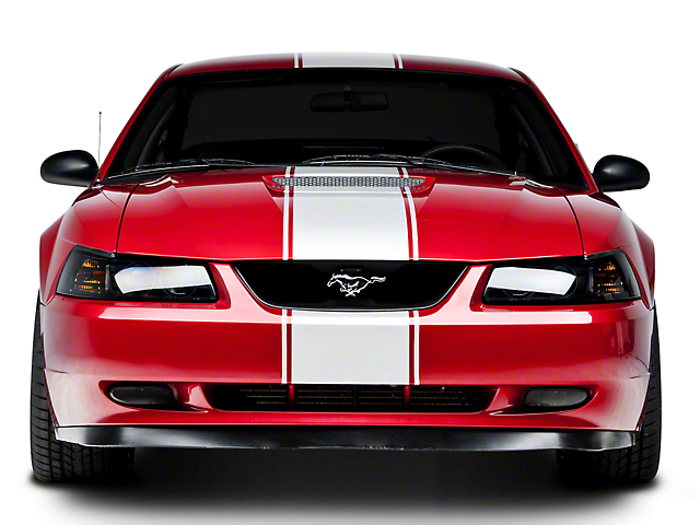 White Super Snake Style Stripe Kit (94-04 All)