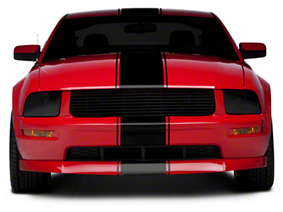Black Super Snake Style Stripe Kit (05-14 All)