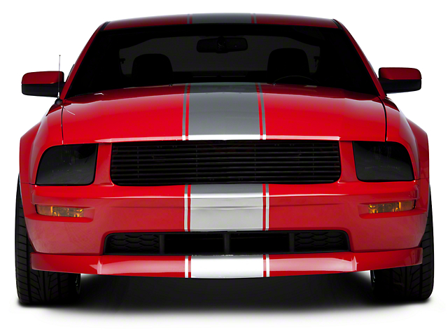 Silver Super Snake Style Stripe Kit (05-14 All)