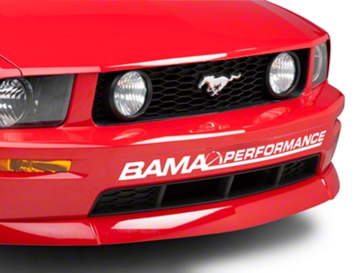Bama Performance Front Bumper Decal - White (05-14 All)