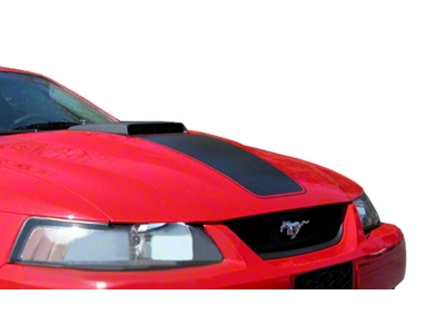 Matte Black Mach 1 Hood Decal (99-04 Mach 1)