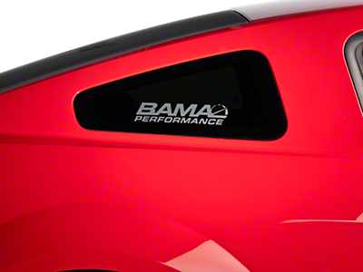 Bama Performance Quarter Window Decal - Frosted (05-14 All)