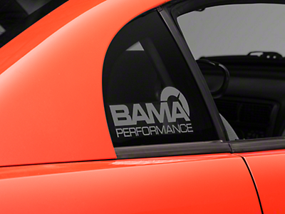 Bama Performance Quarter Window Decal - Frosted (94-04 All)