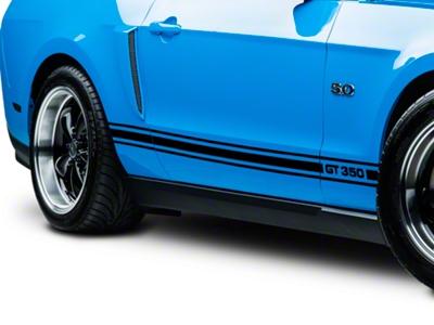 Black Rocker Stripes w/ GT350 (05-14 All)