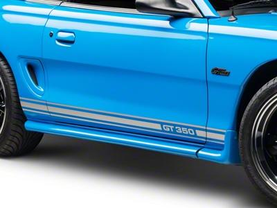 Silver Rocker Stripes w/ GT350 (94-04 All)