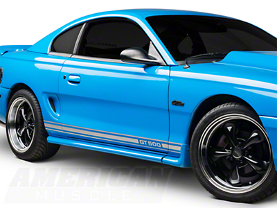 Silver Rocker Stripes w/ GT500 (94-04 All)