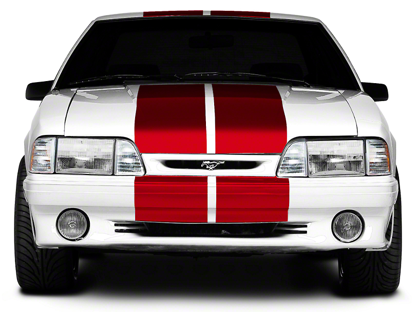 Red Lemans Stripes - 12 in. (79-93 All)