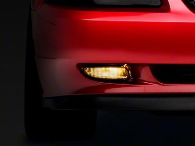 Yellow Fog Light Tint (94-04 GT, V6, Mach 1)