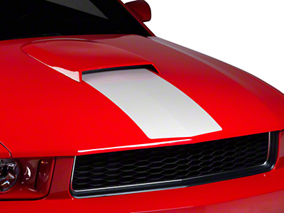 White Hood Stripe (05-09 GT, V6)