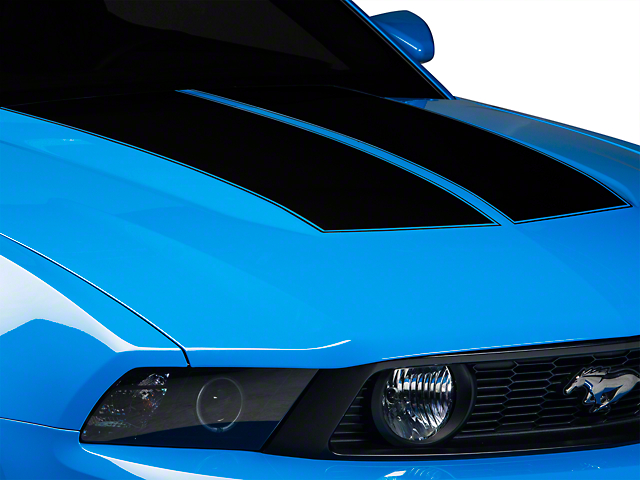 Black Dual Hood Stripe (10-12 All)