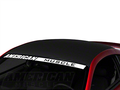 Matte Black Boss Style Roof Decal (94-04 All)