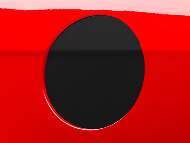 Fuel Door Cover Decal - Matte Black (10-14 All)