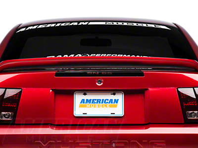 SN-95 Third Brake Light Decal (99-04 All; Excludes 03-04 Cobra)