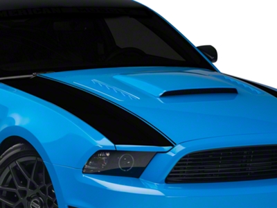 Black Outer Hood Stripes (13-14 All)