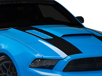 Matte Black Inner Hood Stripes (13-14 All)