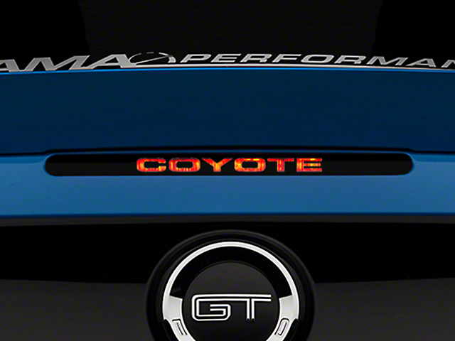 Coyote Third Brake Light Decal (11-14 All)