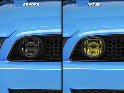 Yellow Fog Light Tint (13-14 GT)
