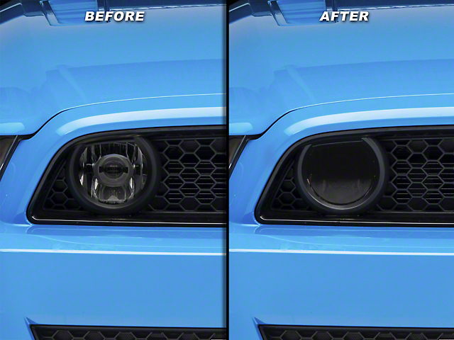 American Muscle Graphics Smoked Fog Light Tint (13-14 GT)