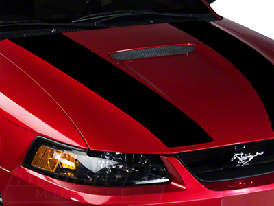 Black Inner Hood Stripes (99-04 GT; 99-02 V6)