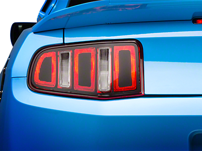 Tail Light Conversion Decal Kit - Matte Black (10-12)