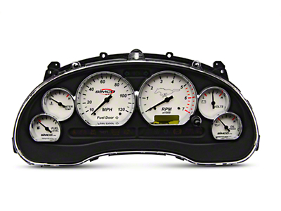 Simco Classic Series Gauge Cluster - Chrome (99-04 V6)