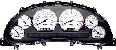 Simco Classic Series Mustang Gauge Kit (96-98 GT)