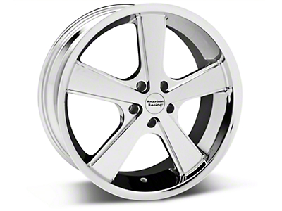 Chrome American Racing Nova Wheel - 20x8.5 (05-14 GT, V6)