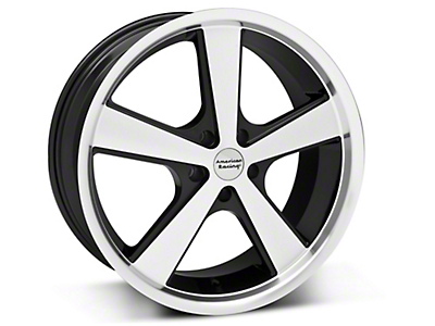 Nova Black Machined Wheel - 20x8.5 (05-14 GT, V6)