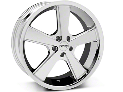 Chrome American Racing Nova Wheel - 20x10 (05-14 GT, V6)