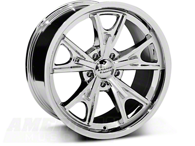 Chrome American Racing Daytona Wheel - 18x9 (94-04 All)