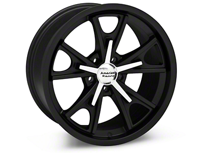 Matte Black American Racing Daytona Wheel 18x9 (94-04 All)