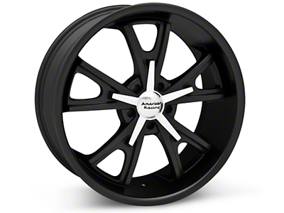 Matte Black American Racing Daytona Wheel - 20x8.5 (05-14 GT, V6)