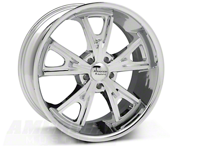 Chrome American Racing Daytona Wheel - 20x9.5 (05-14 GT, V6)