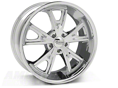 Daytona Chrome Wheel - 20x9.5 (05-14 GT, V6)