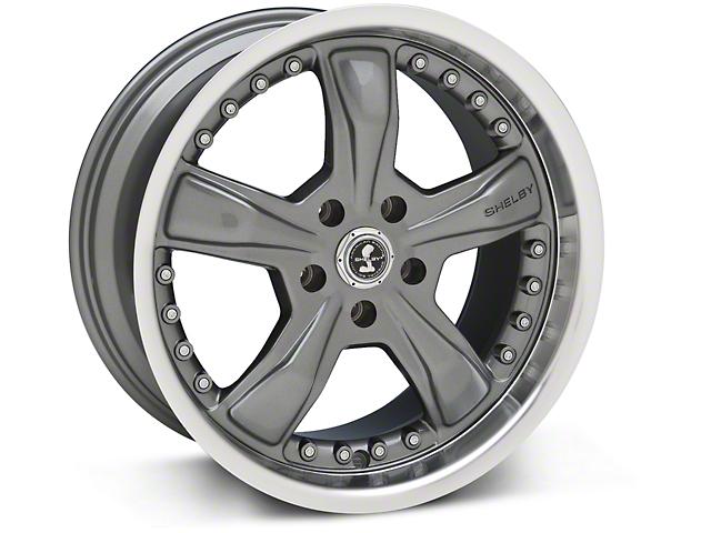 Shelby Razor Gunmetal Wheel - 18x9 (05-14 GT, V6)