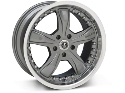 Shelby Razor Gunmetal Wheel - 18x9 (05-14 GT, V6)
