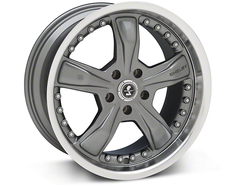 Shelby Razor Gunmetal Wheel - 18x9 (94-04 All)
