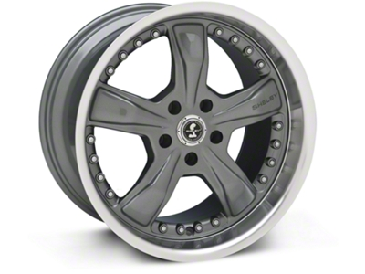 Shelby Razor Gunmetal Wheel - 18x10 (94-04 All)
